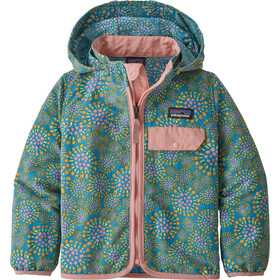 Patagonia Baggies Veste Enfant, tencel bloom/joya blue